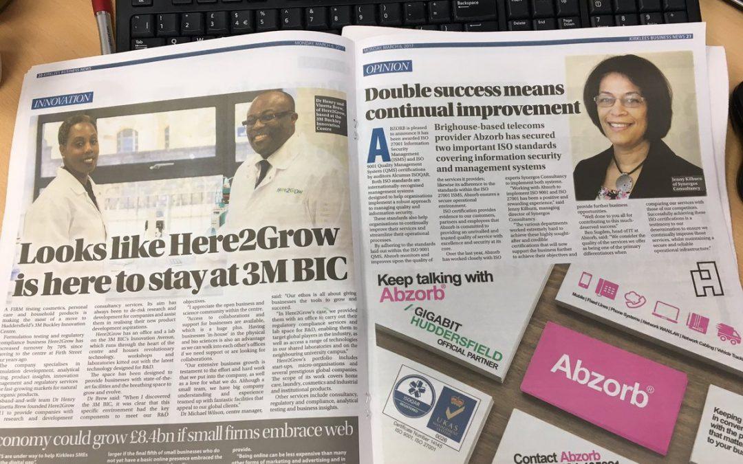 Kirklees Business News Article