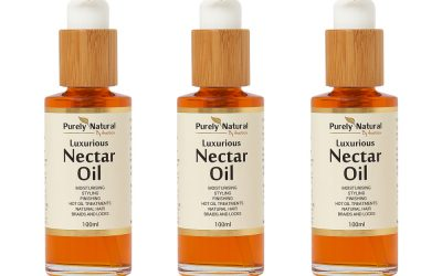 Here2Grow works with Purely Natural to create innovative afro hair oil formulation